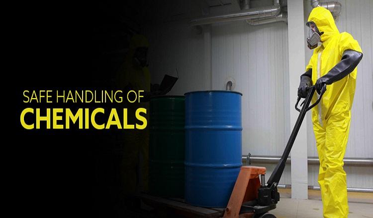 safe handling of chemicals